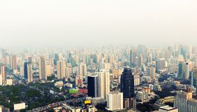 Bangkok panorama Stock Images