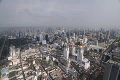 Bangkok - panorama dell'occhio dell'uccello Fotografie Stock Libere da Diritti