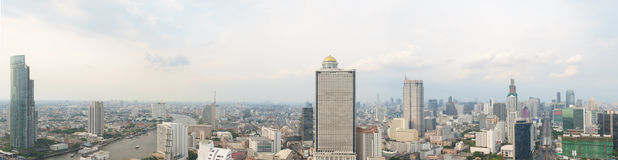 Bangkok panorama. Stock Photo