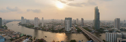 Bangkok panorama. Royalty Free Stock Photography