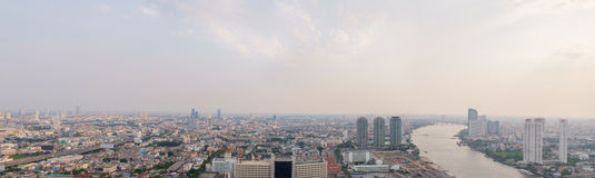 Bangkok panorama. Royalty Free Stock Images