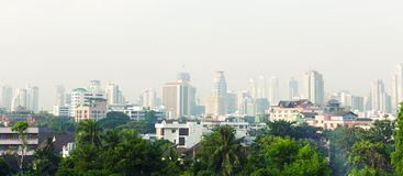 Bangkok panorama view Stock Image
