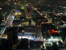 Bangkok par nuit Photographie stock libre de droits