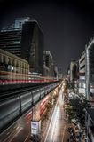 Bangkok par nuit photo stock