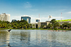 Bangkok park Royalty Free Stock Photos