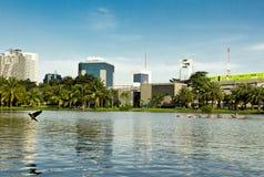 Bangkok parkerar Royaltyfria Foton
