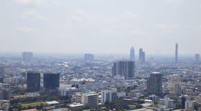 Bangkok pejzażu miejskiego duży miasto obraz royalty free