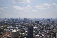Bangkok pejzażu miejskiego duży miasto zdjęcia royalty free