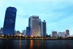 Bangkok pejzaż miejski Ilustracja Wektor
