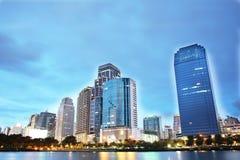 Bangkok pejzaż miejski Ilustracji