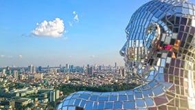 Bangkok pejzaż miejski Obrazy Royalty Free