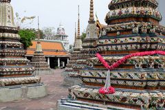 bangkok pho świątyni wat bangkok Thailand Zdjęcia Royalty Free