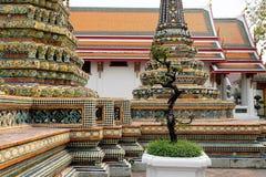 bangkok pho świątyni wat bangkok Thailand Obraz Stock