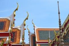 bangkok pho świątynny Thailand wat obraz stock