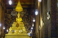 bangkok pho Thailand wat Obrazy Stock