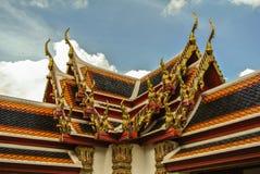 bangkok phothailand wat Royaltyfri Bild