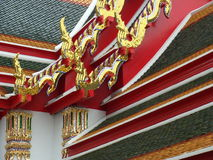 bangkok phothailand wat Arkivbild