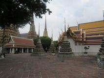 bangkok phothailand wat Royaltyfri Foto