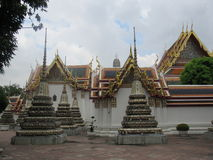 bangkok phothailand wat Arkivbilder