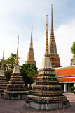 bangkok po tempelwat Arkivfoto