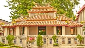bangkok po thailand wat Arkivfoton