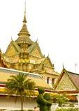 bangkok po thailand wat Royaltyfri Bild