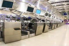 Bangkok portów lotniczych Zdjęcia Royalty Free