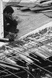 Bangkok pracownik budowlany Fotografia Royalty Free