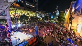 Bangkok Protestuje czasu upływ zdjęcie wideo