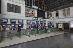 Bangkok Railway Station Royalty Free Stock Photography