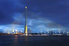 Bangkok Rama VIII bridge Royalty Free Stock Images