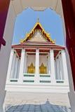 bangkok ratchanaddaramwat Arkivbild