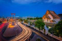 Bangkok Red swing Royalty Free Stock Photo