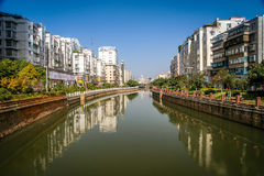Bangkok residential area Royalty Free Stock Photography