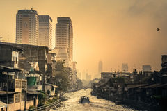 Bangkok residential area Stock Image