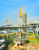 Bangkok Ring Road bridge Stock Images