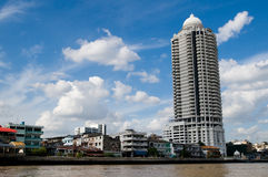 Bangkok from the river Royalty Free Stock Photos