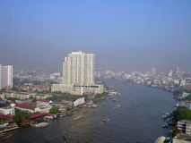 Bangkok by the river Stock Image