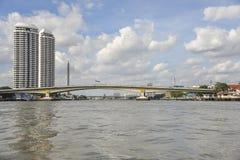 Bangkok river view Royalty Free Stock Image