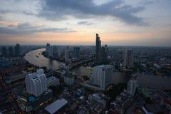Bangkok river view Stock Photo