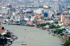 Bangkok riverside Stock Photography