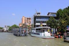 Bangkok Riverside Scene Stock Photos