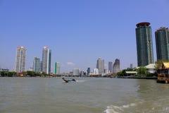 Bangkok Riverside Scene Stock Images