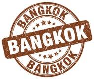 Bangkok stamp. Bangkok round grunge stamp isolated on white background. Bangkok