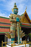 Bangkok Royal Palace. Warrior - guard  at the Bangkok Royal Palace, Thailand Stock Photos
