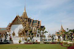 Bangkok - royal palace. Thailand - bangkok - royal palace - overview Stock Photos