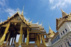 Bangkok  royal palace. Bangkok luxurious royal palace at wat phra kaeo temple, Thailand Royalty Free Stock Photos