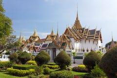Bangkok royal palace. Bangkok luxurious  royal palace and garden, Thailand Royalty Free Stock Photography