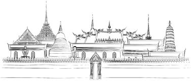 Free Bangkok Royal Palace Royalty Free Stock Images - 8989119