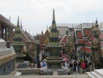 Bangkok Royal Palace i Thailand Arkivbilder